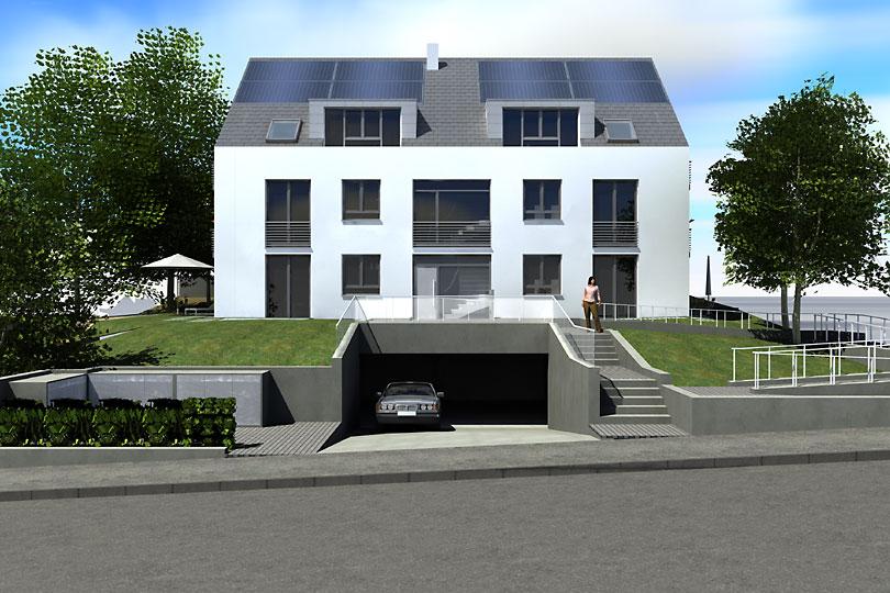 wonner und partner mehrfamilienhaus in stuttgart degerloch. Black Bedroom Furniture Sets. Home Design Ideas